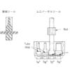 インテグリス PFAフッ素樹脂製サニタリーヘルール フレア加工ツール