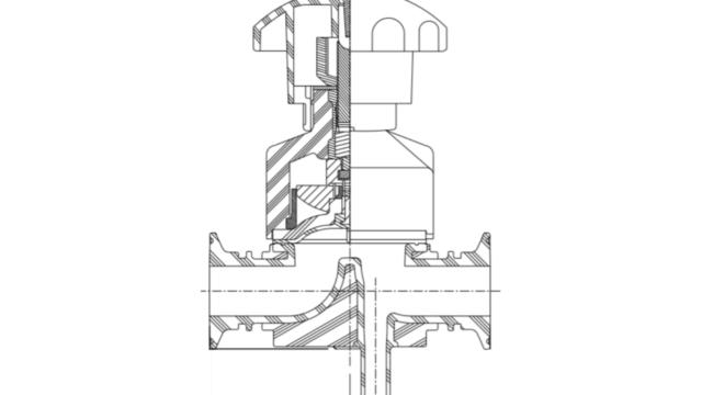 インテグリス PFAフッ素樹脂製サニタリーヘルール バルブ